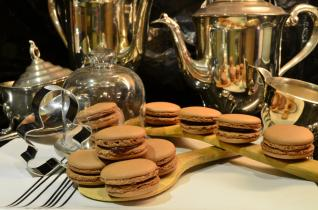 Lindt chocolate macarons