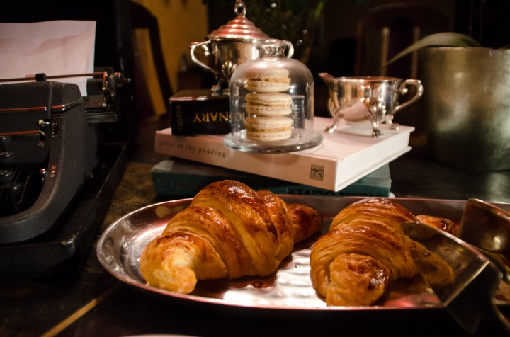 Croissant, French word for crescent